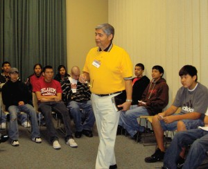 Native American youth urged to put past behind them, serve God