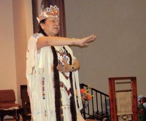 Native Americans reaching Native Americans