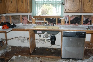 Domestic house cleaning – BGCO mud-out crew completes first job in-state