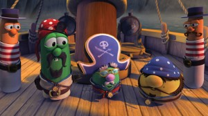 A gourd, grape and cucumber team up in new Veggie Tales movie