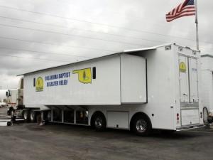 Oklahoma's Disaster Relief Feeding Unit Headed to Denver