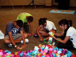 Falls Creek Students Experience Missions in a New Way