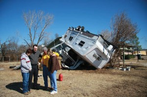 Enon Disaster Relief volunteers help their own
