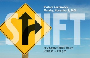 'Shift' theme of Pastors' Conference, Nov. 9