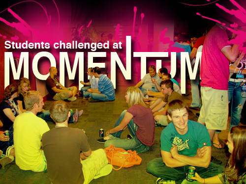 Students challenged at 'Momentum'