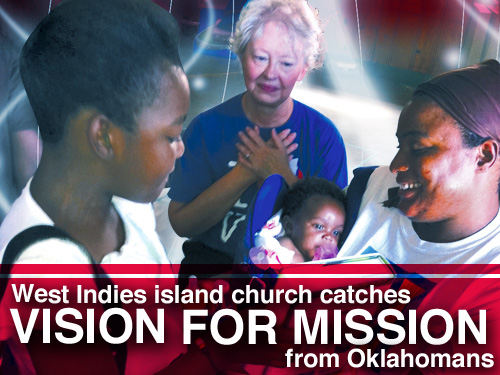 West Indies island church catches vision for missions from Oklahomans