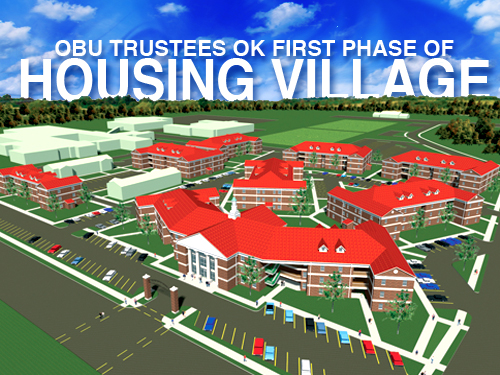 OBU trustees OK first phase  of housing village