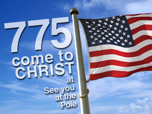 775 come to Christ at SYATP rallies