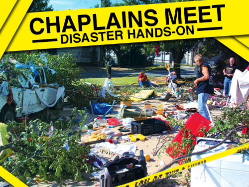 Chaplains meet  disaster 'hands-on'