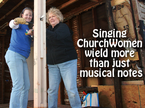 Singing ChurchWomen wield more than just musical notes