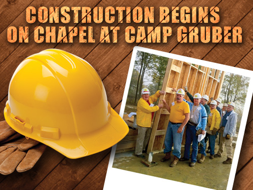 Construction begins on chapel at Camp Gruber
