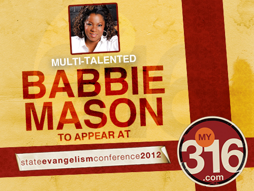 Multi-talented Babbie Mason to appear at State Evangelism Conference