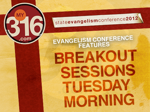 Evangelism Conference features breakout sessions Tuesday morning