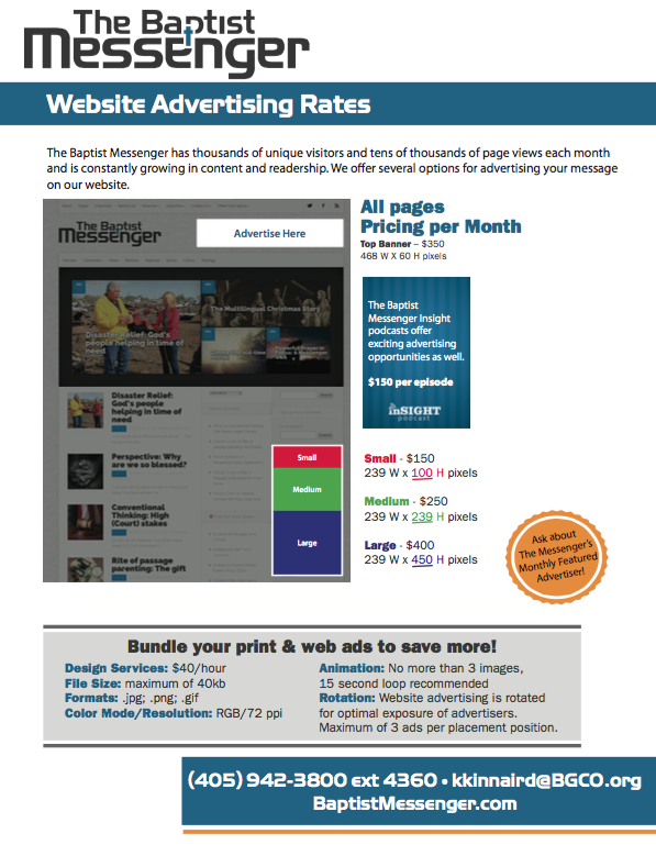 Messenger-Web-Ad-Rates