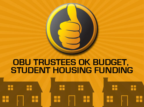 OBU trustees OK budget,  student housing funding