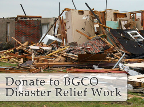Oklahoma Baptists Lead Disaster Relief in Woodward, Norman