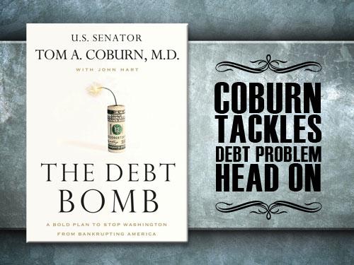 Coburn tackles debt problem head on