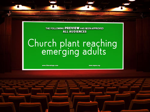 Church plant reaching emerging adults