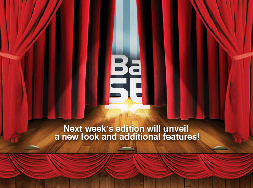 Next week's edition will unveil a new look and additional features!