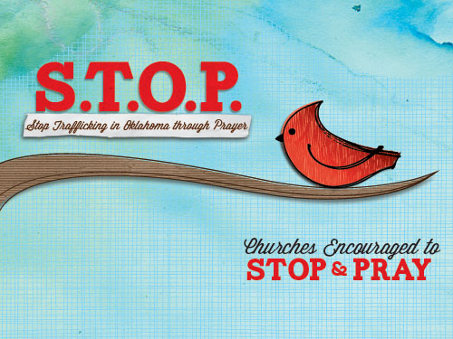 Churches Encouraged to S.T.O.P. and Pray