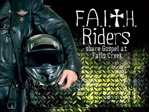 F.A.I.T.H Riders share Gospel at Falls Creek