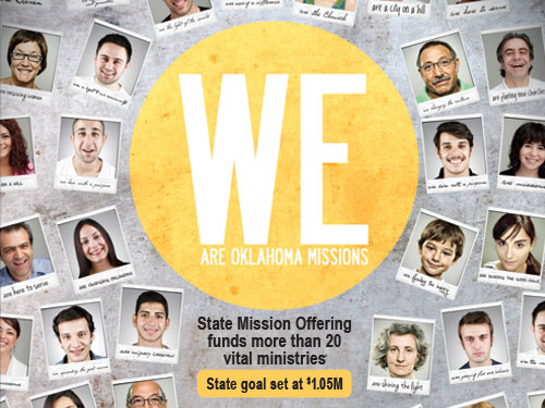 State Missions Offering funds more than 20 vital ministries