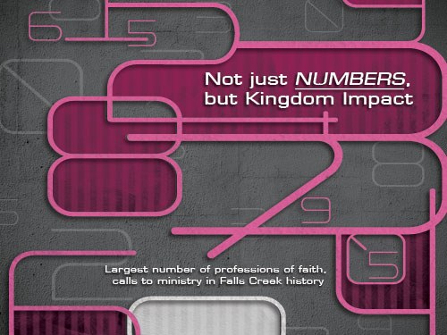 Not just numbers, but Kingdom Impact