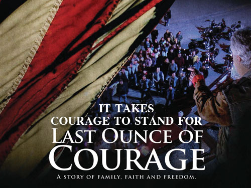 It takes courage to stand for 'Last Ounce of Courage'