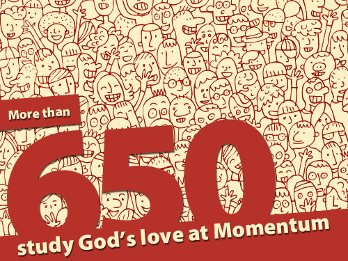 More than 650 study God's love at Momentum