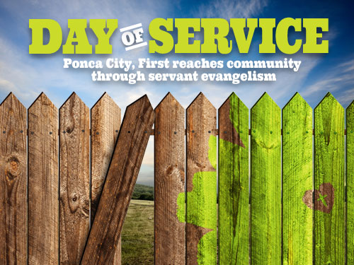 Day of service: Ponca City, First reaches community through servant evangelism