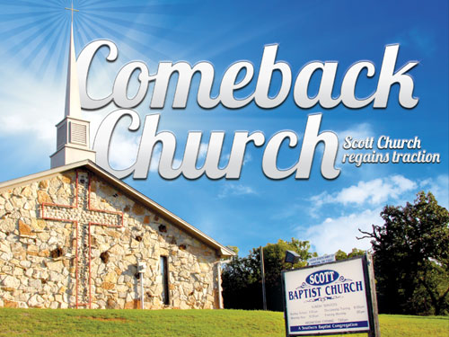 Comeback Church – Scott church regains traction