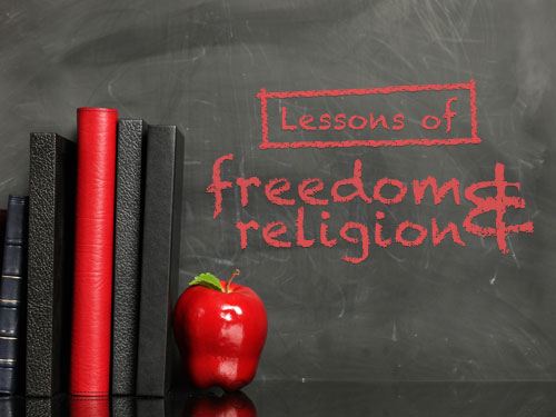 Lessons of freedom & religion