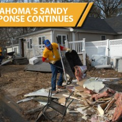 Oklahoma's Sandy response continues