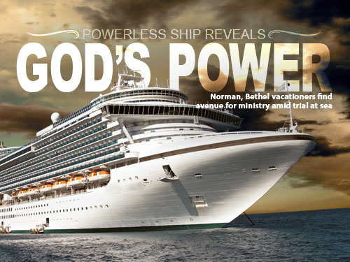Powerless ship reveals God's power