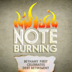 Note burning: Bethany, First celebrates debt retirement