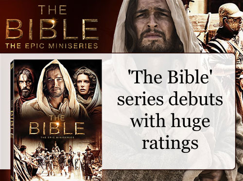 'The Bible' series debuts with huge ratings