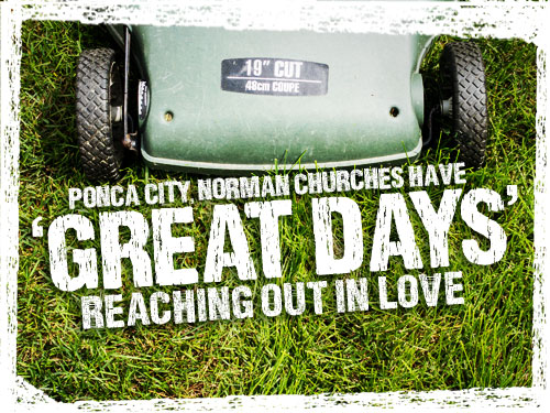 Ponca City, Norman churches have 'great days' reaching out in love