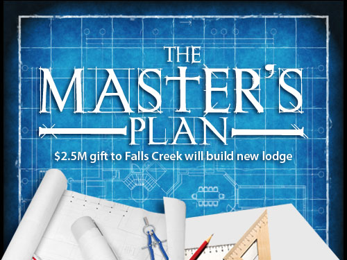 The Master's plan: $2.5M gift to Falls Creek will build new lodge