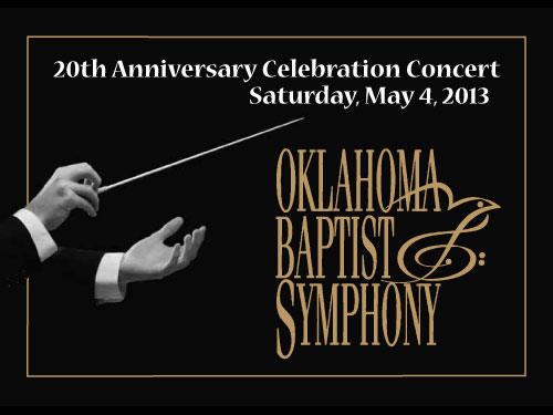 OBS 20th anniversary concert May 4
