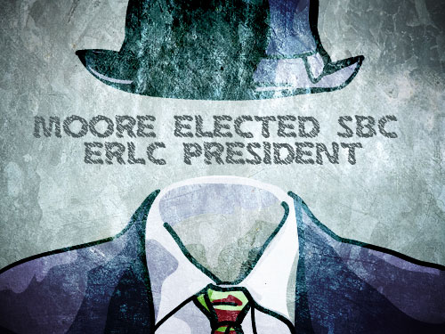 Moore elected ERLC president