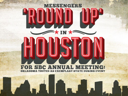 Messengers 'Round Up' in Houston for SBC Annual Meeting