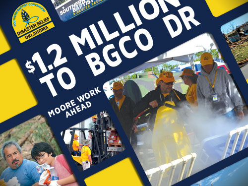 $1.2 Million to BGCO DR – Moore work ahead