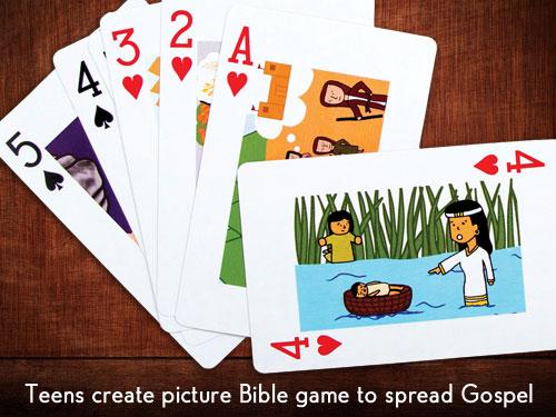 teens create picture bible game to spread gospel baptist messenger