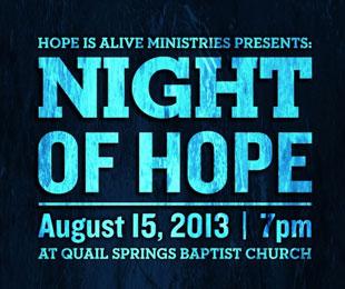 Messenger Insight 177 – Night of Hope