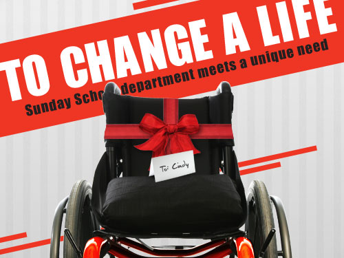 To change a life