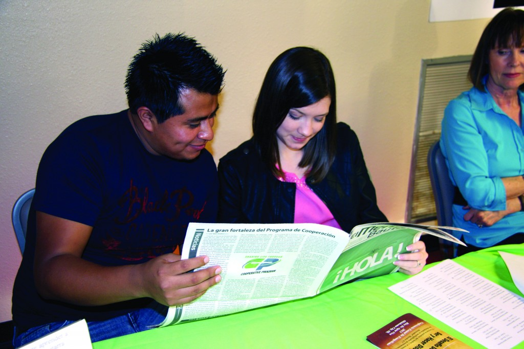New Spanish Messenger unveiled at Hispanic State Evangelism Conference