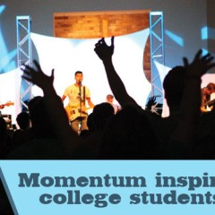 Momentum inspires college students