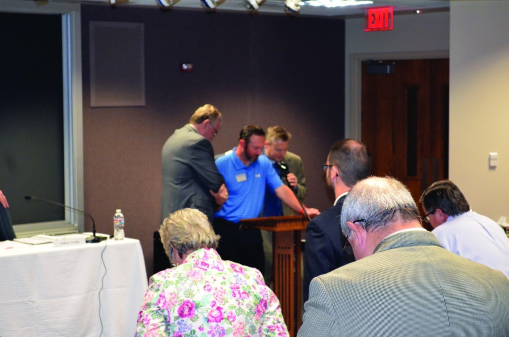 Freeman opens BGCO Board meeting on emotional note
