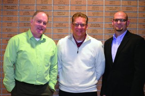 Pastors' Conference officers for 2014 include, from left, Steve Lewis, pastor of Tulsa, Parkview, first vice president; Rick Longcrier, pastor of Miami, First, president; Rusty McMullen, pastor of Sayre, First, second vice president.