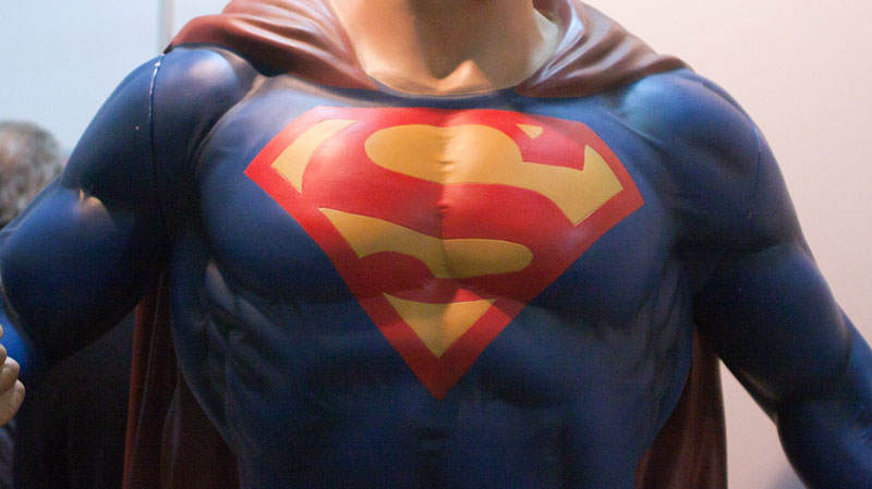 'Superman' shares Christ's love